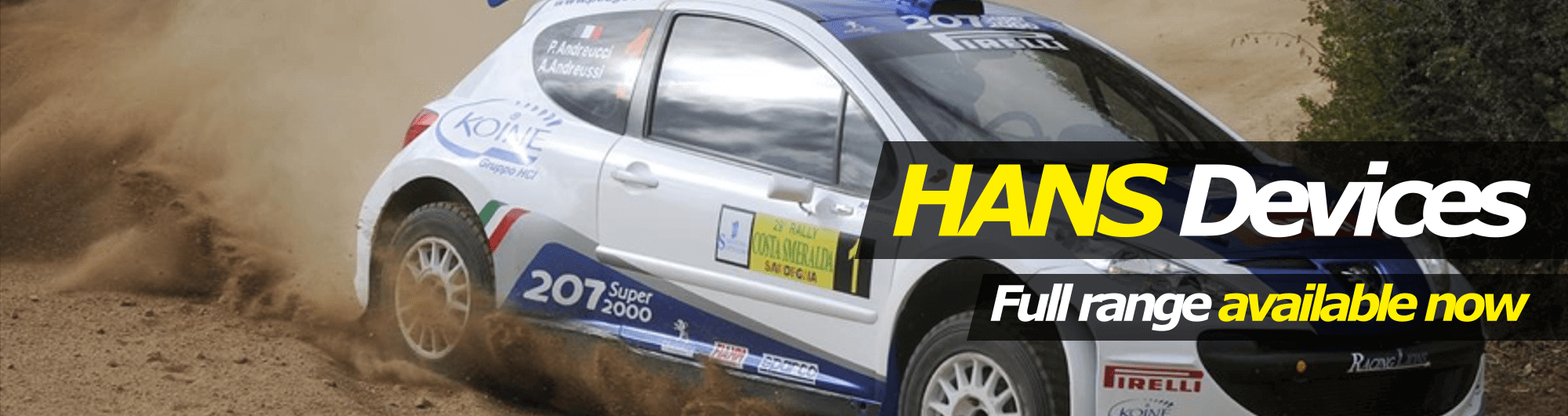 HANS Devices Slider