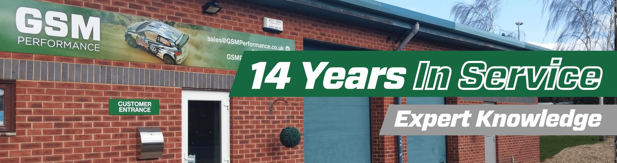 14 Years in Service – Expert Knowledge – www.gsmotorsport.co.uk Hero Image – October 2017