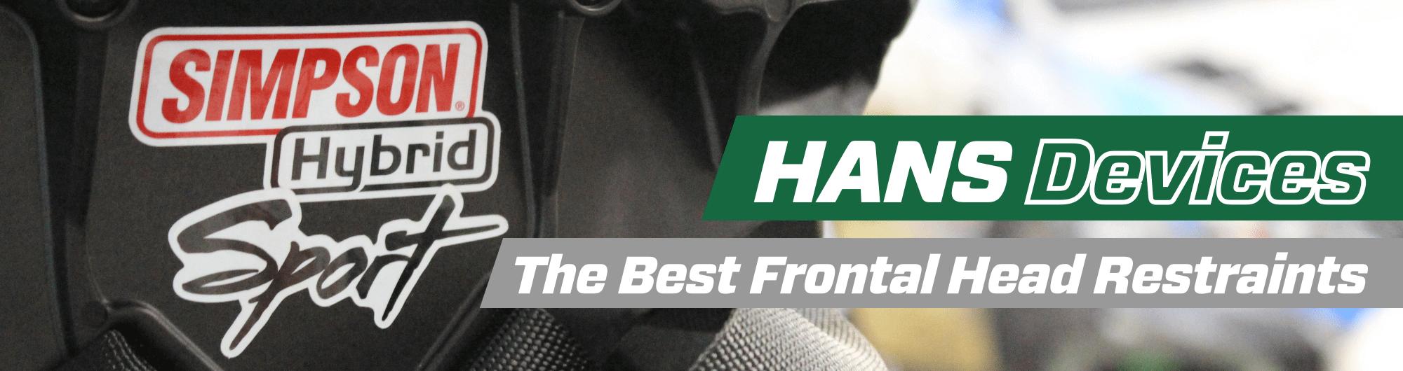 HANS Devices – The Best Frontal Head Restraints – www.gsmotorsport.co.uk Hero Image – October 2017