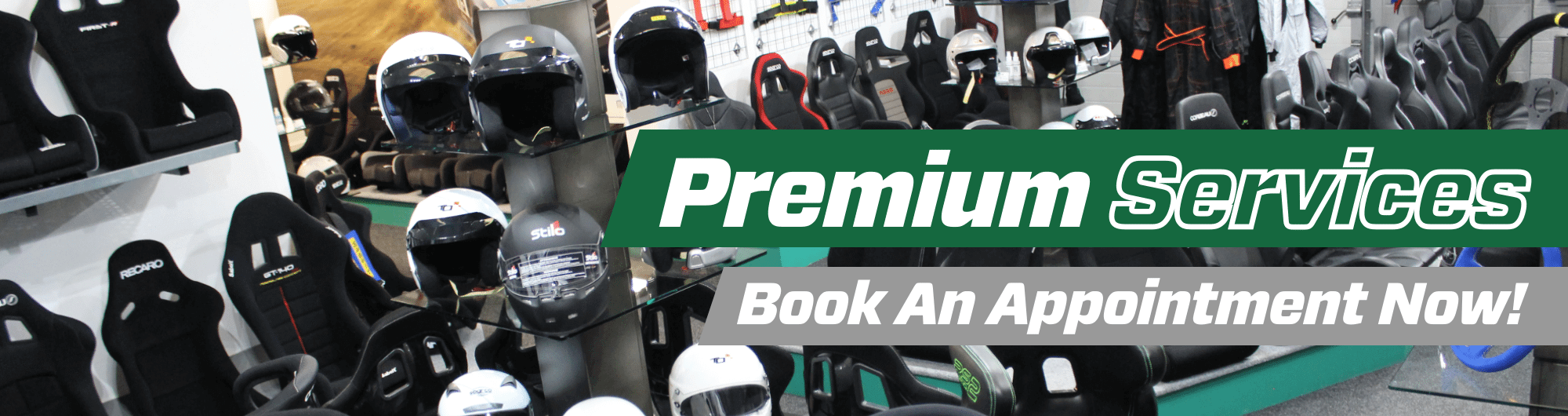 Premium Services – Book An Appointment Now – www.gsmotorsport.co.uk Hero Image – October 2017