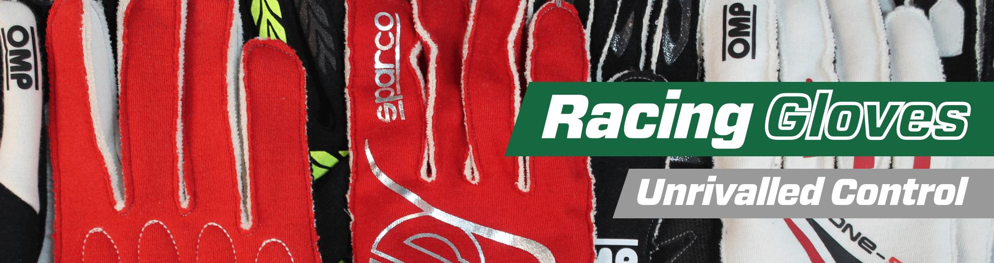 Racing Gloves – Unrivalled Control – www.gsmotorsport.co.uk Hero Image – October 2017