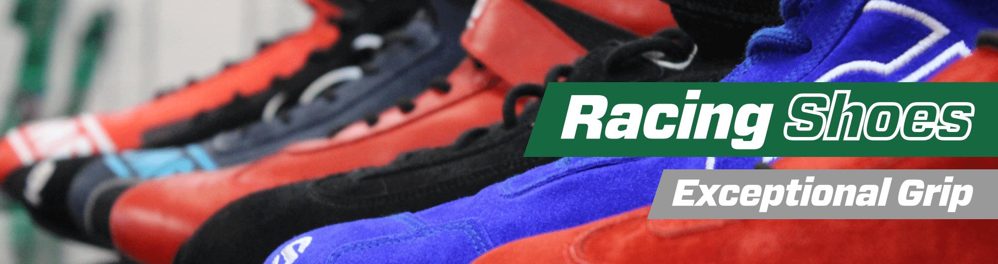 Racing Shoes – Exceptional Grip – www.gsmotorsport.co.uk Hero Image – October 2017