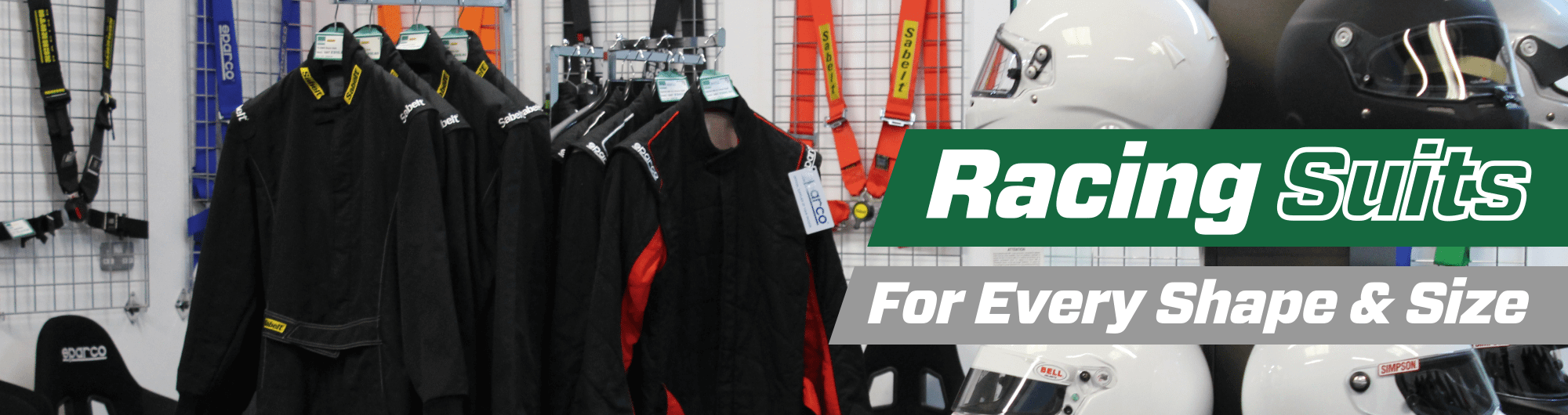 Racing Suits -For Every Shape & Size – www.gsmotorsport.co.uk Hero Image – October 2017